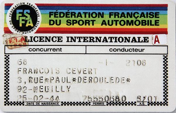 FRANCOIS-CEVERT-Sa-licence-FFSA-photo-autonewsinfo