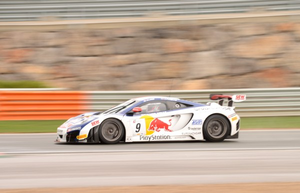 GT FIA 2013 NAVARRA MC LAREN LOEB PARENRTE Photo Claude MOLINIER