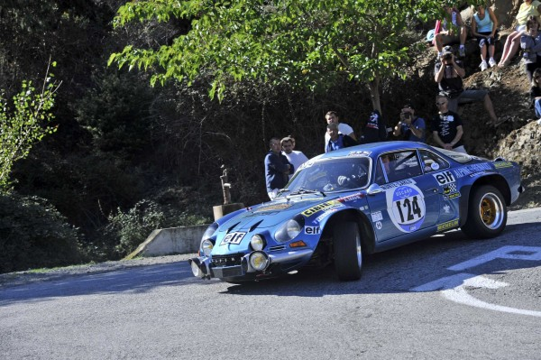 TOUR DE CORSE HISTORIQUE 2013 -  ALPINE RENAULT Photo HAASE-FOTO-CLASSIC