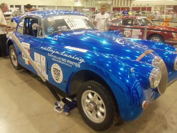 PANAMERICANA 2013 - Spectaculaire Jaguar