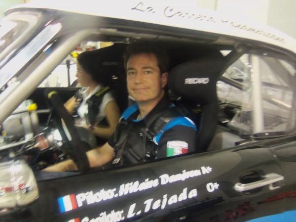 PANAMERICANA 2013 la Studebacker favorite et son pilote Hilaire Damiron.