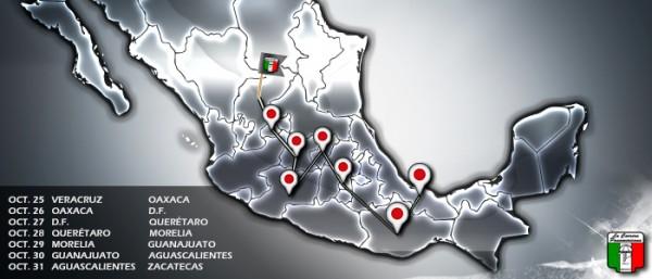 PANAMERICANA-2013-le-parcours