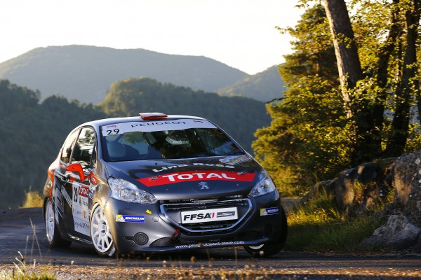 RALLYE ANTIBES 2013 CYRIL AUDIRAC PEUGEOT Photo FFSA