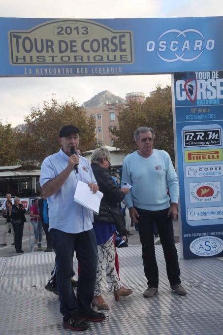 TOUR DE CORSE HISTORIQUE 2013 Yves LOUBET Jose ANDREANI - Photo HAASE FOTO CLASSIC