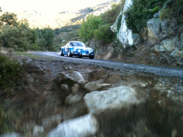 TOUR DE Corse historique Une Berlinette photo autonewsinfo.
