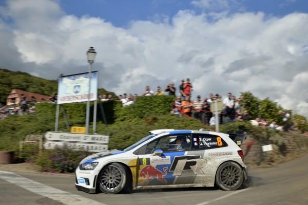 WRC 2013 ALSACE SEB OGIER VW POLO  VAINQUEU