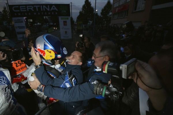WRC 2013 ALSACE - SEB OGIER est CHAMPION DU MONDE JEUDI 3 octobre 2013 a STRASBOURG.