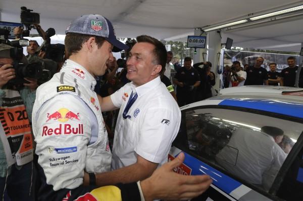 WRC 2013 AUSTRALIE JOST CAPITO et SEB OGIER 1er Dimanche 15 seprembre 2013.j