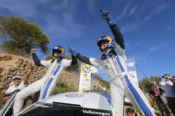 WRC 2013 CATALOGNE -Ogier-Ingrassia 8eme victoire 2013.