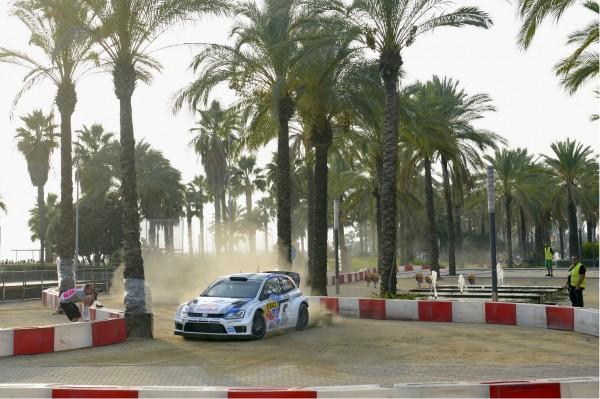 WRC-2013 CATALOGNE - Ogier SUPERSPECIALE Salou