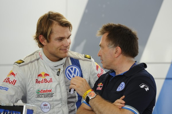 WRC 2013 CATALOGNE - VW POLO MIKKELSEN avec Jost CAPITO - vendredi 25 octobre - Photo Team