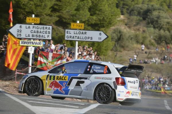 WRC-2013 Catalogne SEB Ogier.