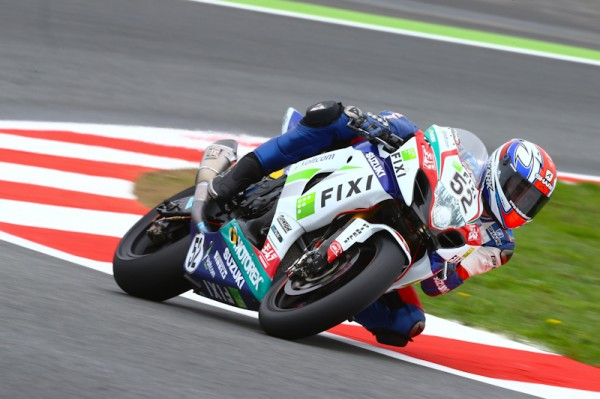 WSBK Magny-Cours Vincent Philippe Photo david Wood Suzuki Racing