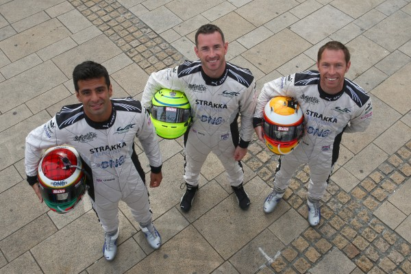 ARX-O3C-Les 3 pilotes LEVENTIS- WATTS-KANE - Photo Gilles VITRY - autonewsinfo