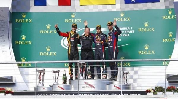 F1-2013-AUSTIN-Le-podium-1-VETTEL-2-GROSJEAN-3-WEBBER