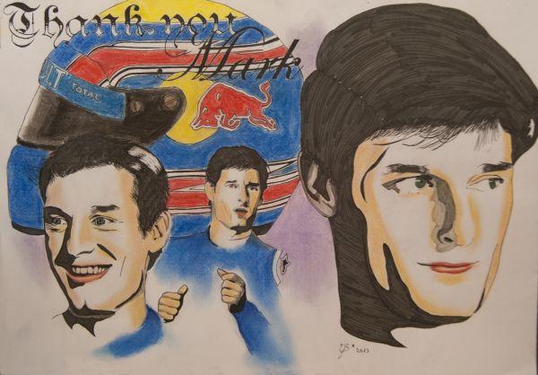 F1-2013-SAO-PAULO-PORTRAITS-de-Mark-Webber-par-Yvonne-Bruhnke