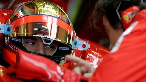 F1-Jerez-Bianchi-Ferrari-