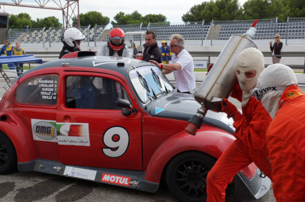 FUN CUP 2013 PAUL RICARD Team de Michel TROLLE au stand