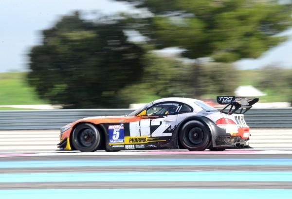 GT TOUR 2013 PAUL RICARD - BMW Z4 de ESTRE HASSID 1ers samedi et dimanche 26 et 27 octobre - photo Claude MOLINIER