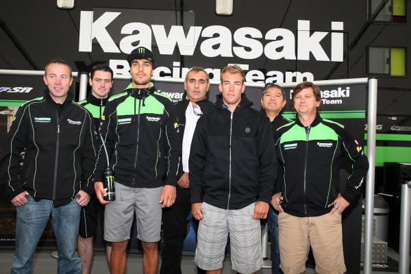 MOTO CROSS 2013 Team KRT KAWASAKI