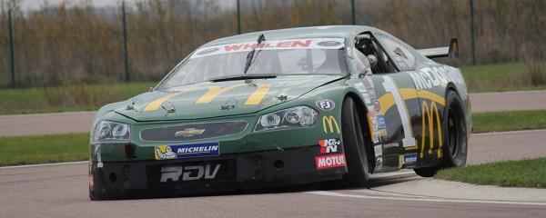 NASCAR-RACECAR 28 Niv 2013 - T-a La FERTE GAUCHER - Ulysse Delsaux, 16 ans, était présent avec son team RDV Compétition pour préparer la saison 2014 de NASCAR Whelen Euro Series. Credits: Arnaud Pomarède