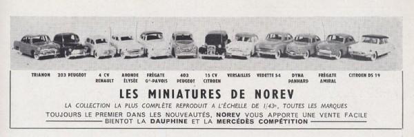 NOREV-le-Catalogue-des-principaux-modeles-en-1956