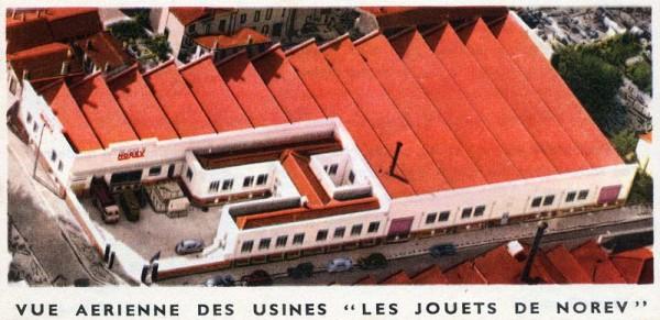NOREV-usine-de-VILLEURBANNEen-1958