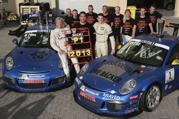 PORSCHE-SUPERCUP-2013-les-deux-pilotes-du-Team-Attempto-Nicki-Thiim-et-Kevon-Estre