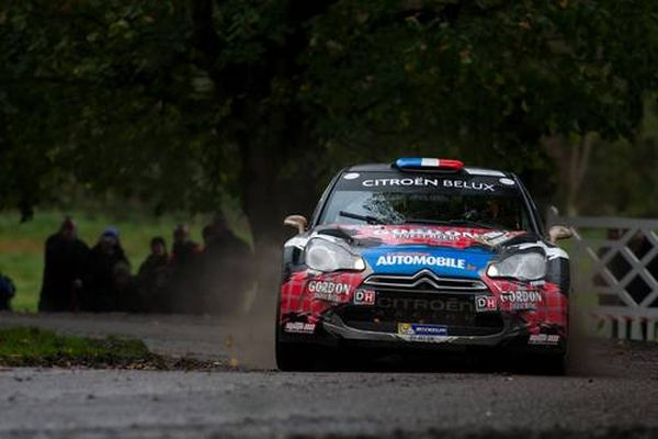 RALLYE CONDROZ 2013 DS3 SEB et SEVERINE LOEB - photo CITROEN