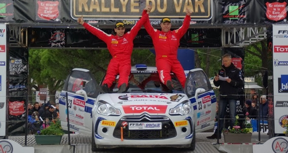 RALLYE-FRANCAIS-2013-CITROEN-RACING-TROPHY-1er-Cedric-ROBERT-du-SAINTELOC-Racing