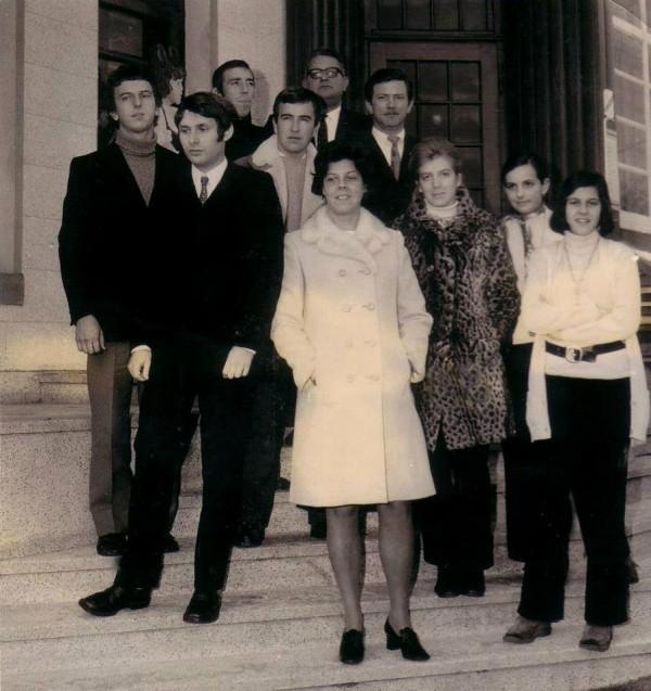 RAYMOND-BORI-avec-le-Team-ARNOLD-en-1970
