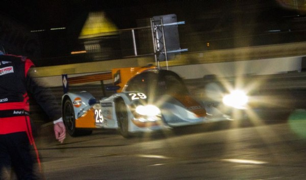 SEBRING 2012 LOLA GULF Team GIROIX nuit Photo ROLEX - Stephan COOPER