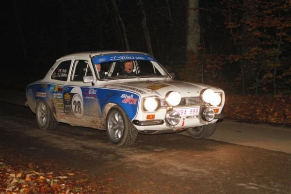 TOUR-DE-BELGIQUE-HISTORIQUE-2013-Delhez-Gully-Ford-Escort-RS-2000-quatrièmes-©-Manfred-GIET