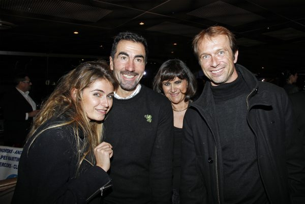 TROPHEE-ANDROS-2013-2014-Luc-ALPHAND-et-Anthony-BELROISE-avec-Aurelie-et-Florence-ELBAZ-présentation-de-presse-27-Novembre-a-PARIS