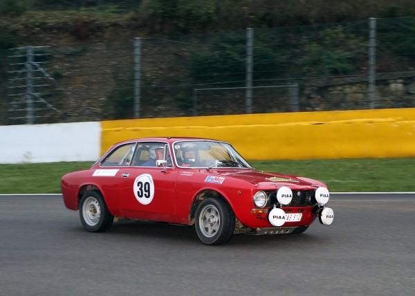 Vainqueurs 2012 du Tour de Belgique Auto -DEFLANDRE-RORIFE Alfa Romeo Giulia-© Manfred GIET