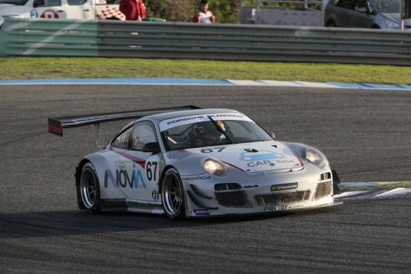 Vde V 2013 ESTORIL PORSCHE GT3R Team ALMERAS - Eruc DERMONT et Franck PERERA - photo Maurice CAMUS.