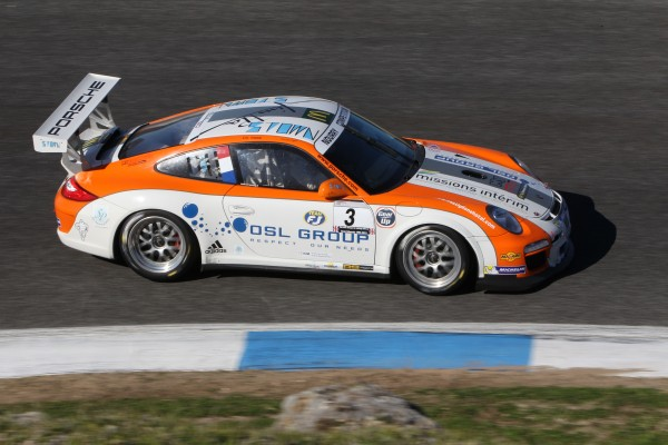 Vde V 2013 Estoril - La PORSCHE du Team NOURRY victorieuse en GTV3 de Eric MOUEZ - David LOGER