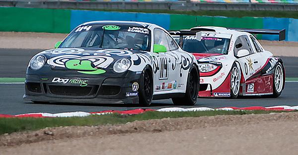 VdeV 2012 la PORSCHE DOG Racing avec Stephane WINTENBERGER - Photo VdeV