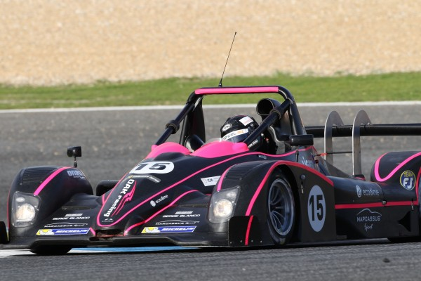 VdeV 2013 Estoril Qualif - LIGIER JS 53 de Olivier PLA et Yann ZIMMER du Team OAK Racing - Photo Hugues LAROCHE
