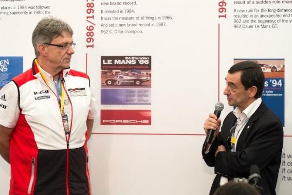 WEC-2013-BAHREIN-Conference-PORSCHE-avec-Hartmut-KRISTEN-et-Pierre-FILLON-ACO