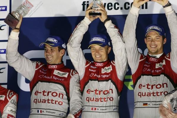 WEC 2013 - le trio TRELUYER - FASSLER- LOTTER victorieux des Six Heures de SHANGHAI veul.