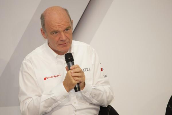 Le Docteur Wolfgang ULLRICH  le patron de l'équipe AUDI Motorsport