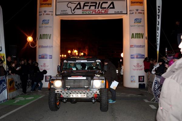 AFRICA RACE 2014 Bowler V8 Jacky Brun et Daniel Mouchard