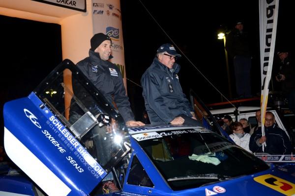 AFRICA RACE 2014 Jean Louis SCHLESSER et Thierry MAGNALDI