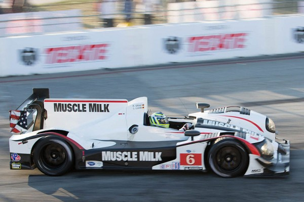 ALMS 2013 HPD Team MUSCLE MILK PICKETT Klaus GRAF a LONG BEACH
