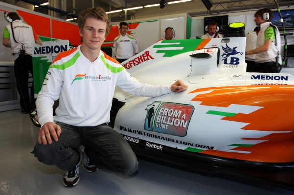 FORCE INDIA 2011 GP TURQUIE Nico Hulkenberg.