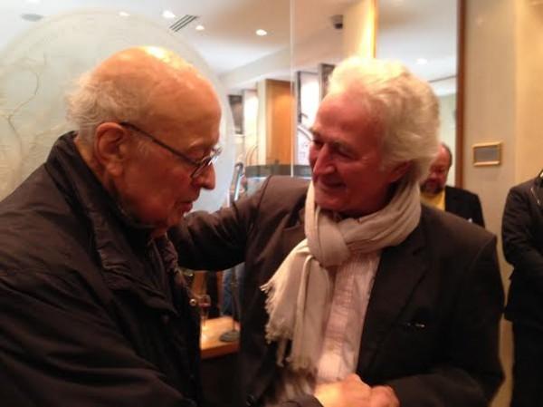 FRANCOIS-GUITER-et-Hugues-de-CHAUNAC-Présentation-Livre-40-ANS-ORECA-le-jeudi-12-decembre-2013-a-PARIS