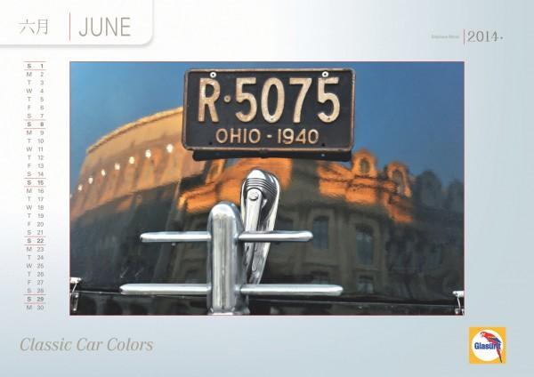 GLASURIT Calendrier 2014 - Juin