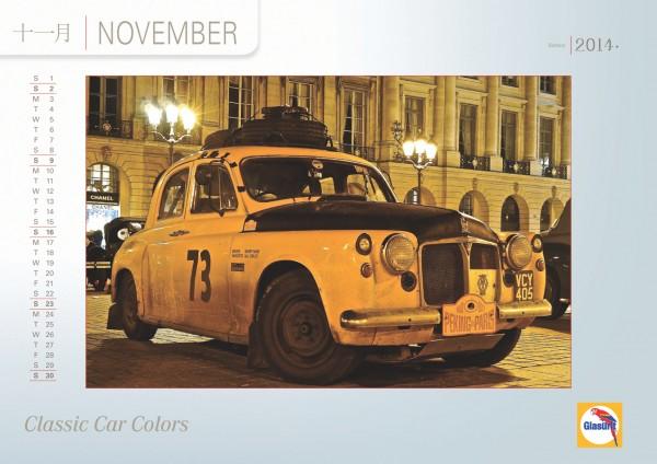 GLASURIT Calendrier 2014 - Novembre