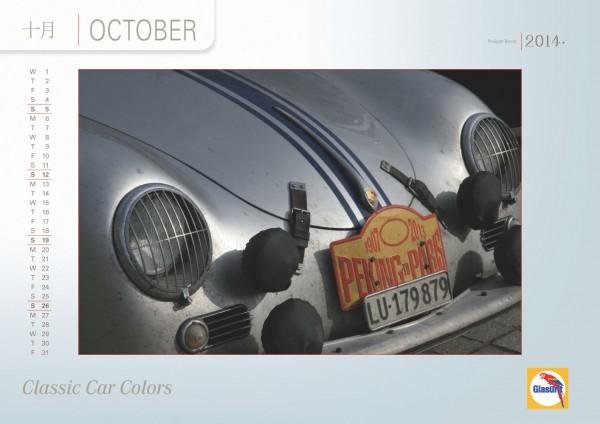 GLASURIT Calendrier 2014 - Octobre